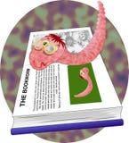 Dévoreur de livres illustration stock