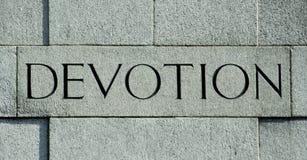 Dévotion image libre de droits