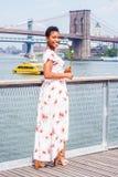 Dê-lhe boas-vindas a New York fotos de stock
