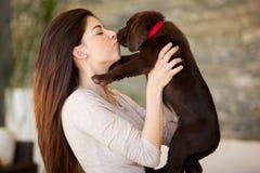 Dê-me um beijo! Foto de Stock Royalty Free