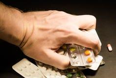 Dê minha medicina, hipocondríaca Foto de Stock Royalty Free