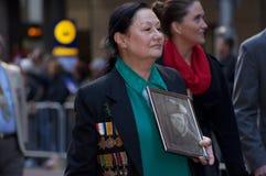 Día 2012 de Anzac Fotografía de archivo