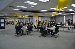 Día abierto el diciembre de 2011 de Swinburne Sarawak Imágenes de archivo libres de regalías