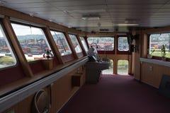 Día abierto en el alcohol de Stena del transbordador. Imagen de archivo libre de regalías
