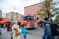 Día abierto en los servicios de rescate de Pirkanmaa fotos de archivo