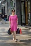 Día acertado para hacer compras Foto de archivo libre de regalías