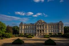 Día acogedor en el paisaje del parque en Gotha fotografía de archivo libre de regalías