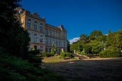 Día acogedor en el paisaje del parque en Gotha fotografía de archivo