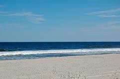 Día asoleado de la playa Fotografía de archivo