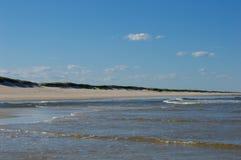 Día asoleado de la playa Imagen de archivo libre de regalías