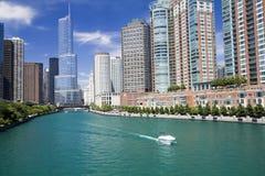 Día asombroso en Chicago fotografía de archivo libre de regalías