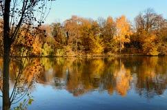 Día caliente del otoño Fotos de archivo libres de regalías