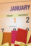 Día de Año Nuevo Imagen de archivo libre de regalías