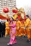 Día de año nuevo chino Imágenes de archivo libres de regalías
