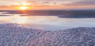 Día de Años Nuevos de la salida del sol Fotografía de archivo