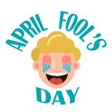 Día de April Fool s Fotografía de archivo