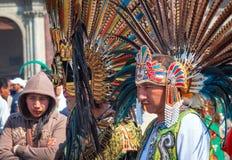 Día de banquete de la Virgen de Guadalupe en Ciudad de México imagen de archivo libre de regalías