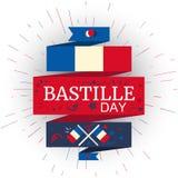Día de Bastille feliz Imagen de archivo