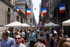 Día de Bastille NYC 2015 3 Imagen de archivo