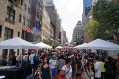 Día de Bastille NYC 2015 18 Fotografía de archivo
