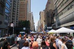 Día de Bastille NYC 2015 29 Imagen de archivo libre de regalías