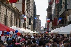 Día de Bastille NYC 2015 30 Fotografía de archivo