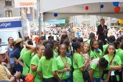 Día de Bastille NYC 2015 35 Imagen de archivo