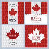 Día de Canadá Fotografía de archivo