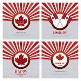 Día de Canadá Fotos de archivo