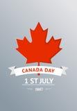 Día de Canadá del VECTOR Imagenes de archivo