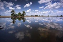 Día de Cloudly Imagen de archivo