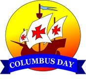Día de Colón feliz Imagenes de archivo