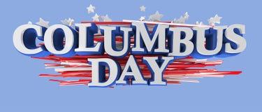 Día de Columbus ilustración del vector