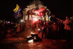 Día de dignidad y de libertad en Ucrania Foto de archivo libre de regalías