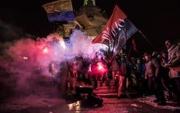 Día de dignidad y de libertad en Ucrania Imagenes de archivo