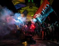 Día de dignidad y de libertad en Ucrania Imágenes de archivo libres de regalías