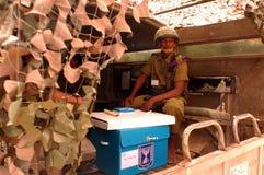 Día de elecciones parlamentarias de Israels Imagen de archivo