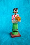 Día de esqueleto muerto Foto de archivo libre de regalías