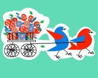 Día de fiesta libre illustration