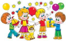 Día de fiesta ilustración del vector