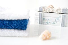 Día de fiesta azul Imagenes de archivo