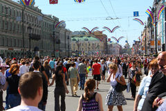 Día de fiesta - día de St Petersburg Fotos de archivo libres de regalías