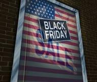 Día de fiesta de Black Friday Fotografía de archivo