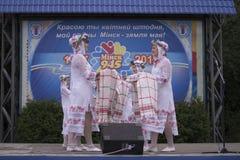 Día de fiesta de la ciudad de Minsk: 945 años, 9 de septiembre de 2012 Foto de archivo libre de regalías