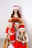 Día de fiesta 2017 de la familia de la Navidad y del Año Nuevo Imagen de archivo