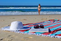 Día de fiesta de la playa imagen de archivo libre de regalías