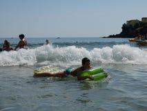 Día de fiesta de la playa del verano Imágenes de archivo libres de regalías