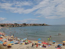 Día de fiesta de la playa del verano Fotos de archivo