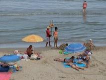 Día de fiesta de la playa del verano Foto de archivo libre de regalías