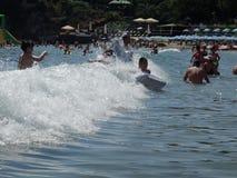 Día de fiesta de la playa del verano Fotografía de archivo libre de regalías